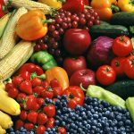 Healthy diet and aging skin