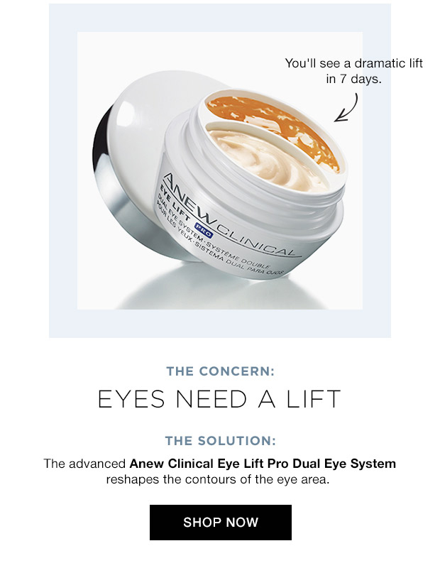 Skin Care Shopping for Eyes that Need a Lift