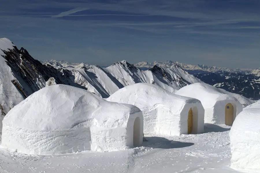 البيوت الجليدية