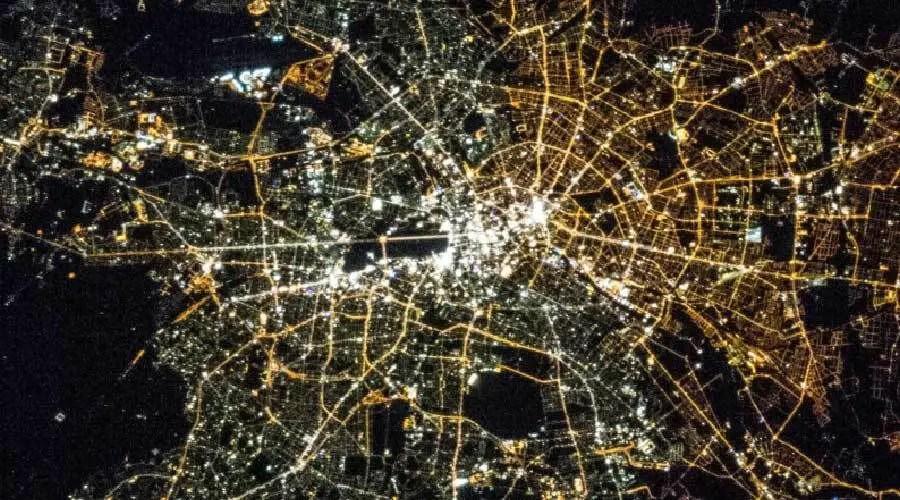 برلين من الفضاء