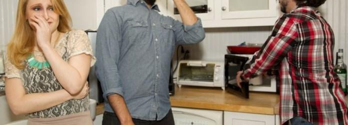 bau membandel di dapur
