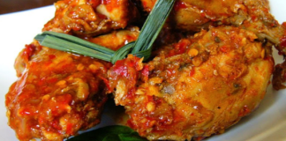 Kreasi Resep Masakan dari Ayam Rica Rica Pedas
