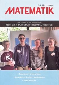 Tidsskriftet MATEMATIK nr. 5 2016