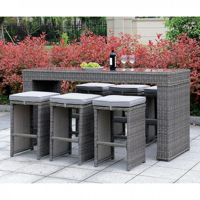 ismay patio bar table