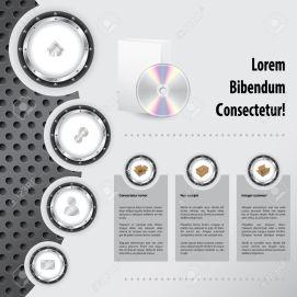 19624203-industrial-website-template-design-with-product-description-stock-vector