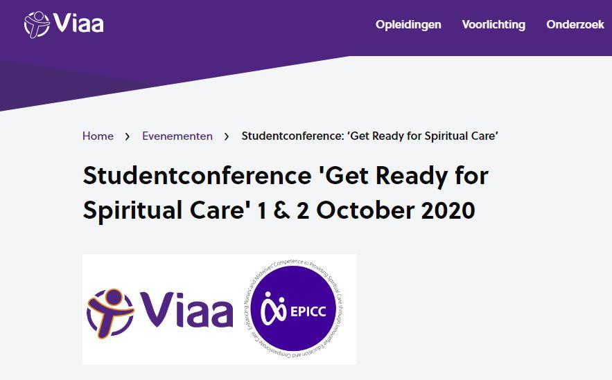 International konference for studerende om åndelig omsorg d.1-2. oktober 2020