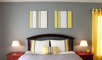 Painted wall panels