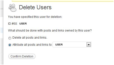 deleted admin