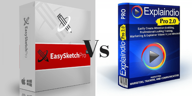 easy sketch pro vs explaindio 2.0