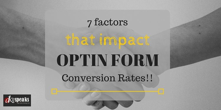 optin form conversion rates
