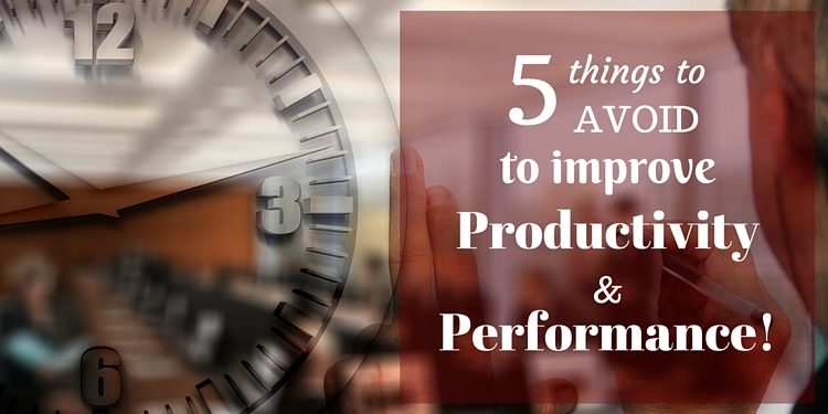 improve productivity and performance