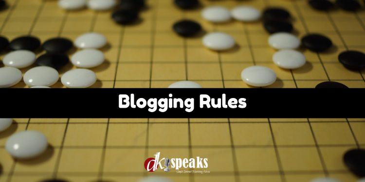 blogging-rules