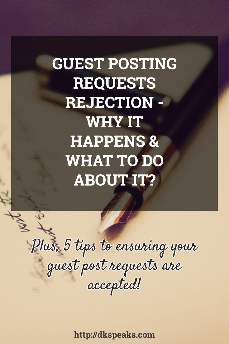 guest post request