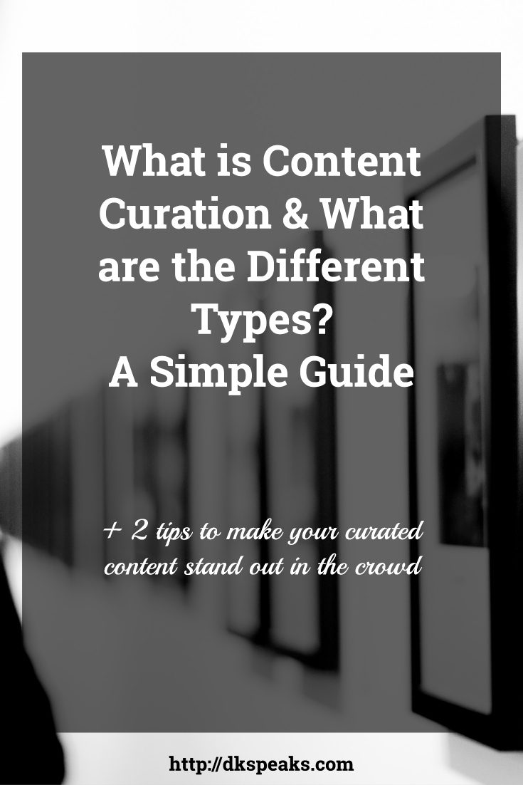 what is content curation