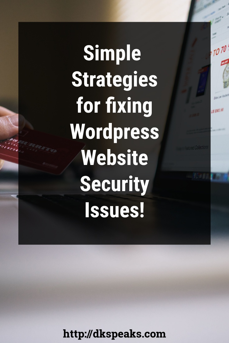 wordpress website security issues
