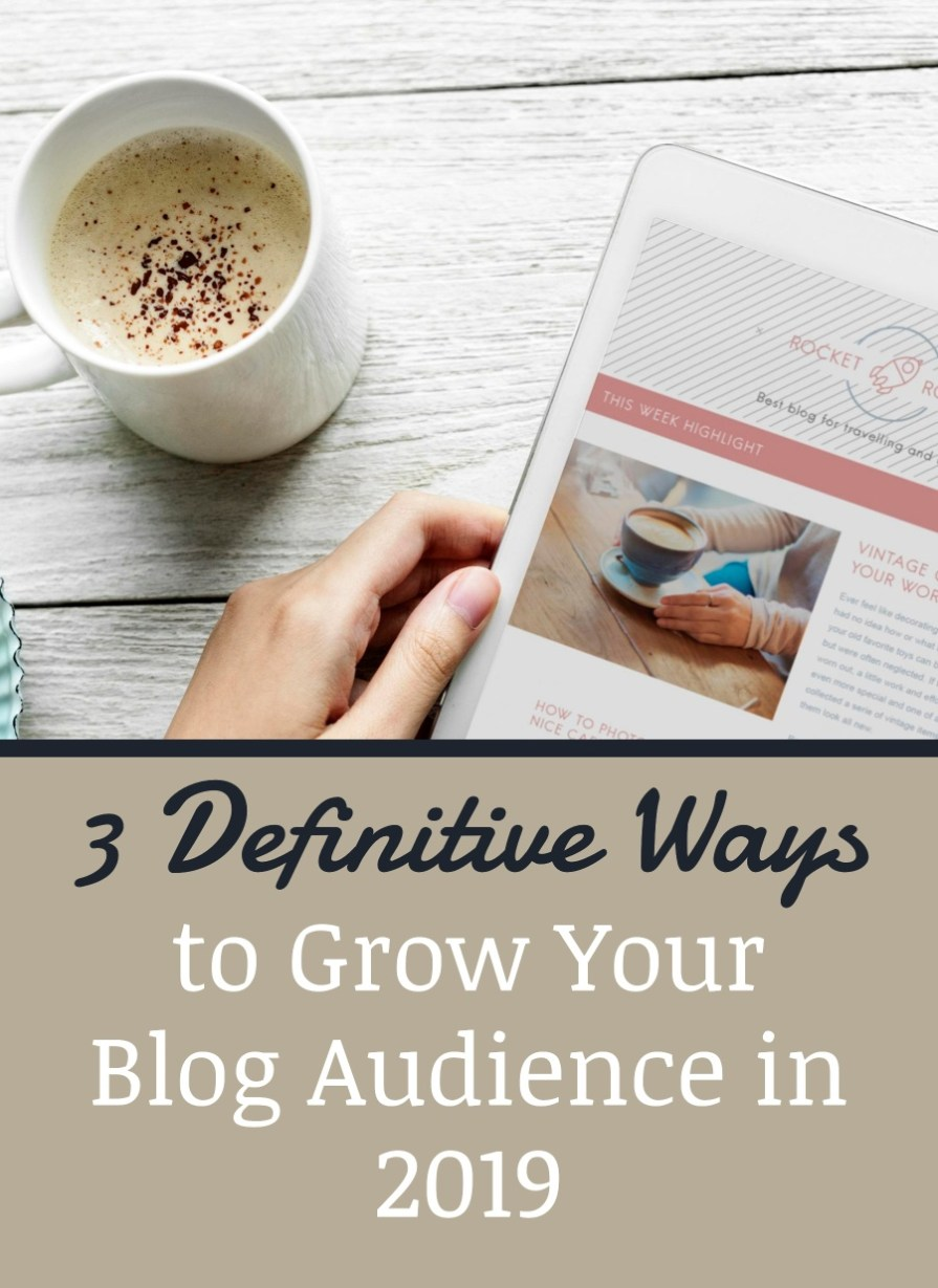 ways to grow your blog audience