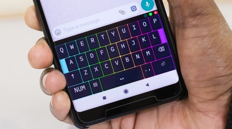 RGB Mechanical Keyboard for Your Android Smartphone