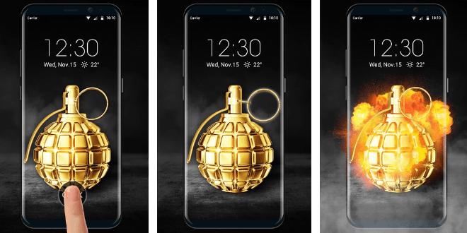 Grenade Lock Screen