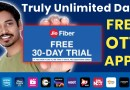 Jio Fiber FREE 30-DAY TRIAL