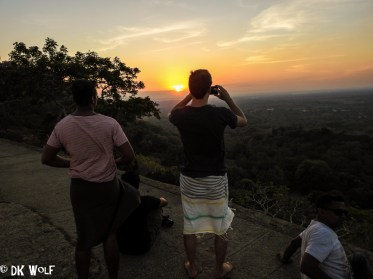Sunset at Mihinthale