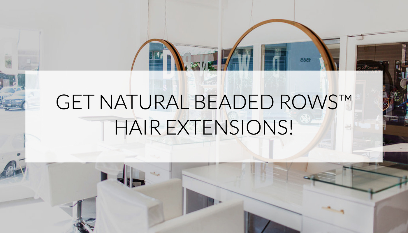 Experience Natural Beaded Rows Hair Extensions