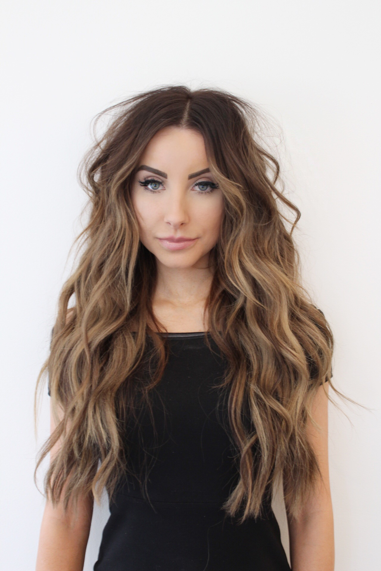 NBR Hair Extension with Beach Waves