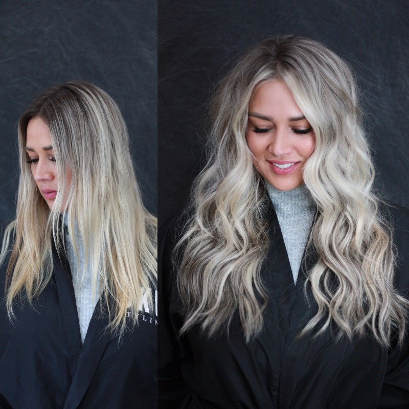 Hand Tied Hair Extensions - Natural Beaded Rows by DKW Styling Salon