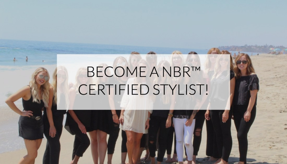 BECOME A NBR CERTIFIED STYLIST