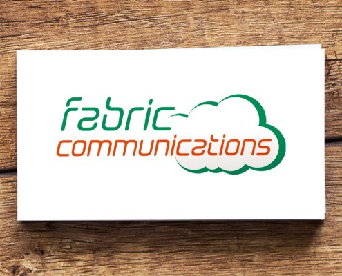 Fabric Communications Graphic Design Artwork Print PDF Logo