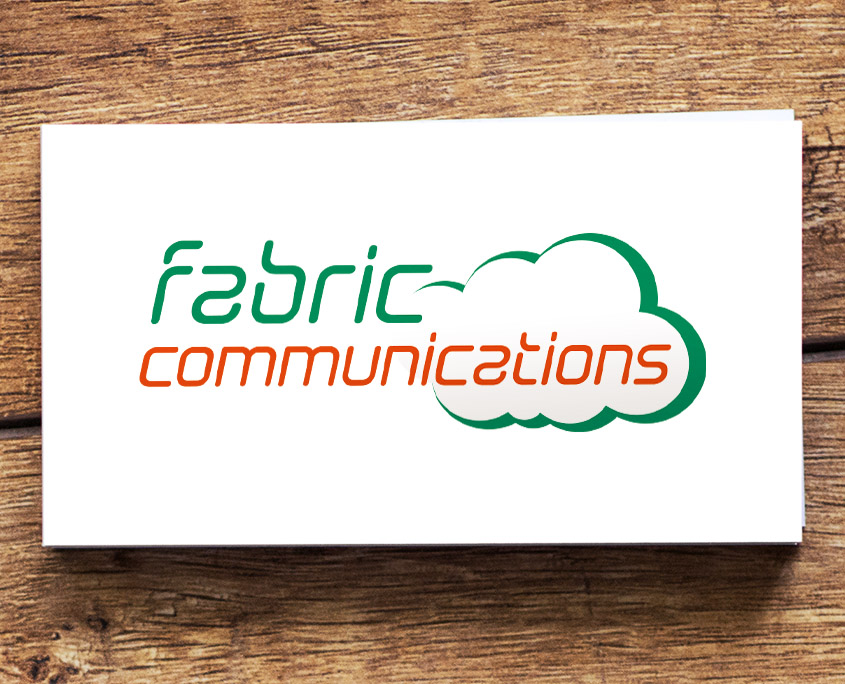 Fabric Communications Graphic Design Artwork Print PDF Logo