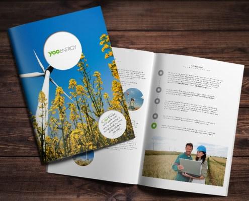 Yoo Energy Graphic Design Artwork Print PDF Brochure