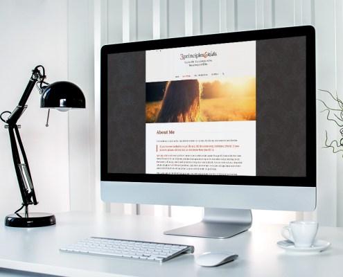 3principles6kids Graphic Design Blog Website