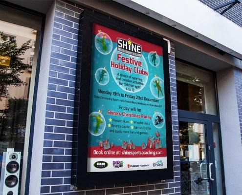 Shine Graphic Design Artwork Print PDF Poster
