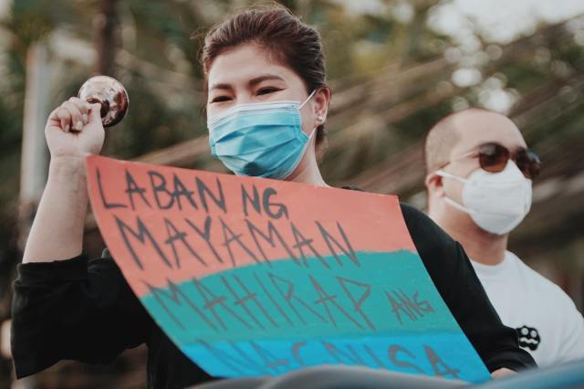 Angel Locsin gives powerful speech at ABS-CBN noise barrage
