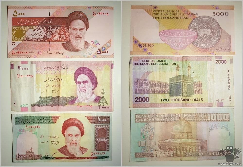 Podróż Życia, waluta Iranu