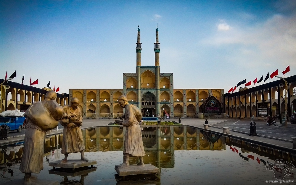 Podróż Życia, Iran, Jazd, kompleks Amir Chakhmaq