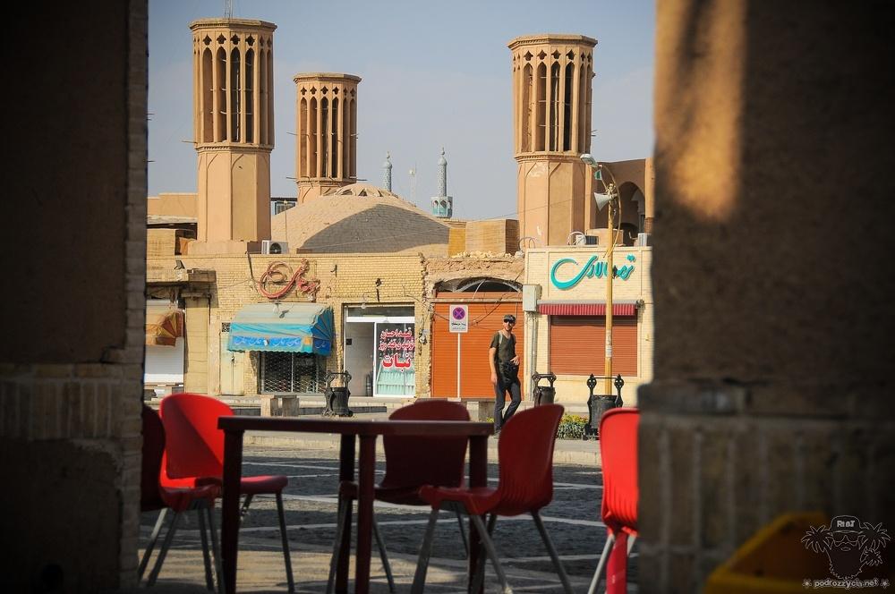 Podróż Życia, Iran, Jazd, plac Amir Chakhmaq
