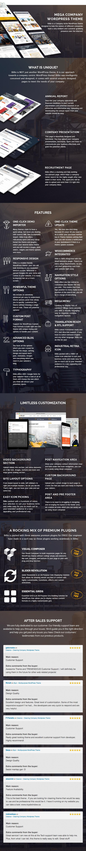 Billio - Multipurpose Company WordPress Theme 1
