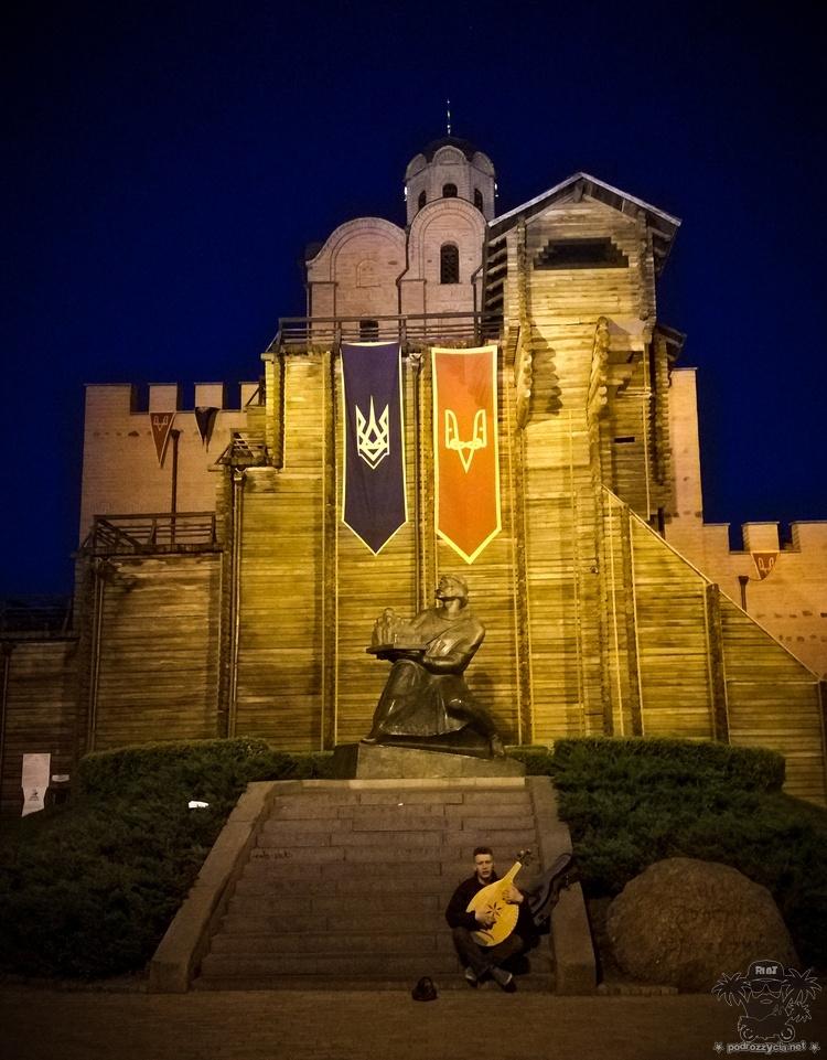 Podróż Życia, Ukraina, Kijów, Złota Brama