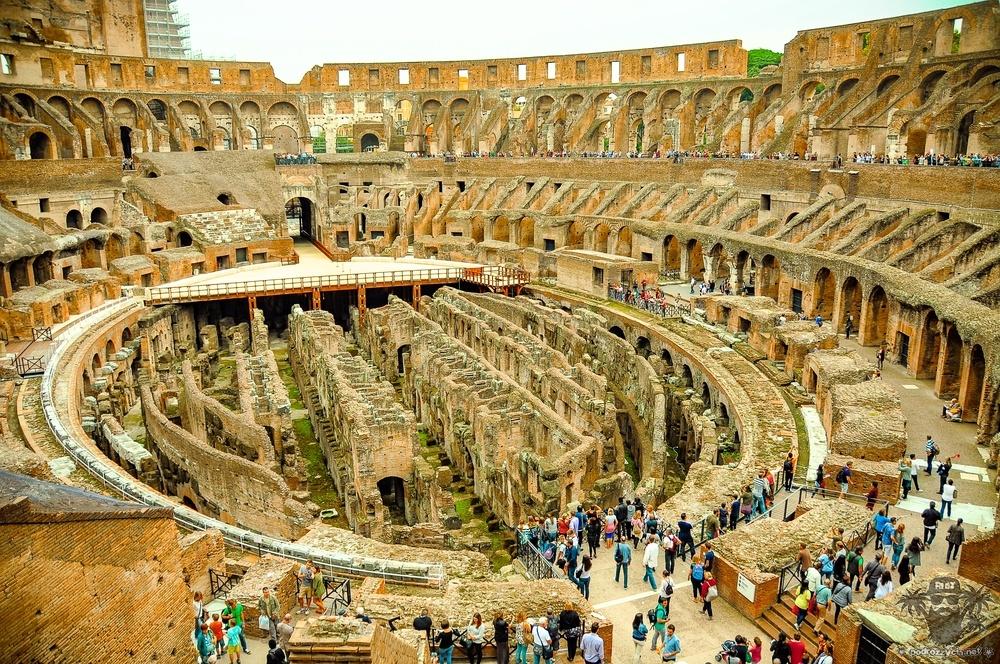 Podróż Życia, Rzym, Koloseum