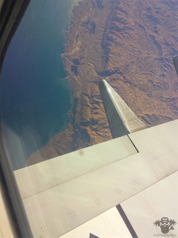 Zakręt nad Morzem Martwym