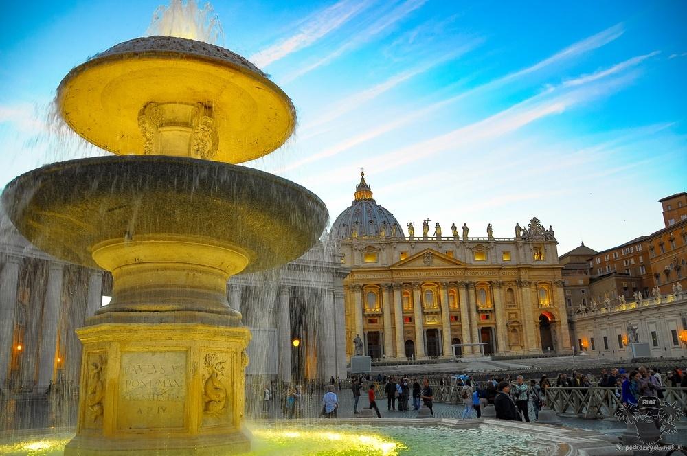 Podróż Życia, Rzym, Bazylika św. Piotra