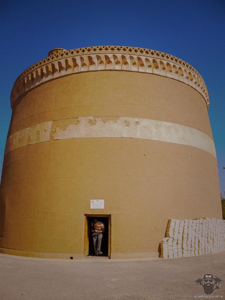 Podróż Życia, Iran, Meybod, Wieża Gołębia