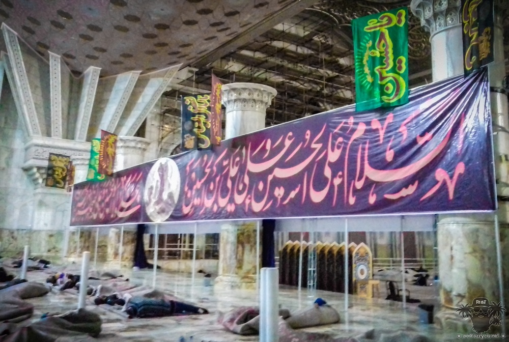 Podróż Życia, Iran,mauzoleum Chomejniego
