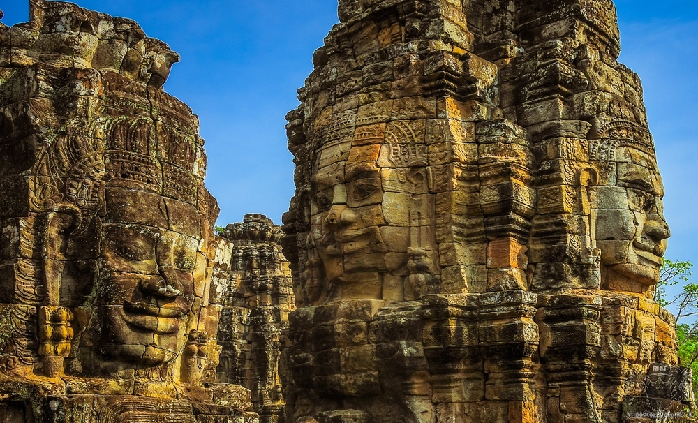 Round The half World, Kambodża, Angkor Thom