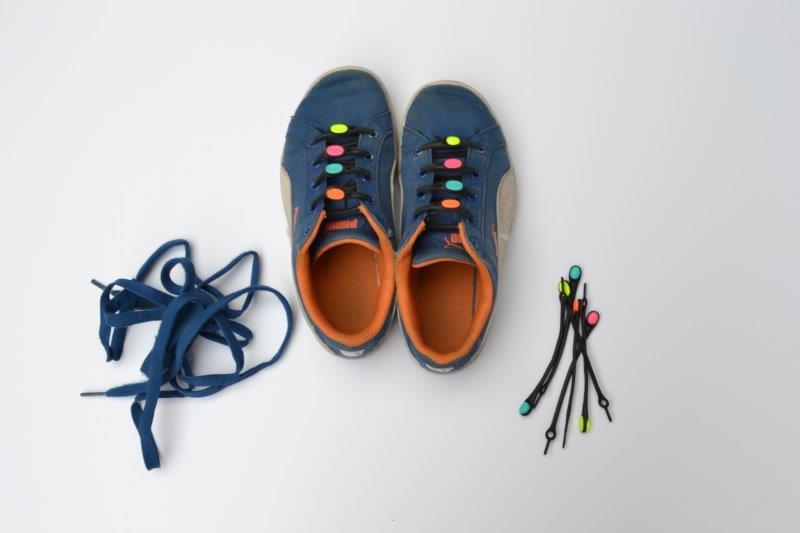 Bye Bye Shoe Lace - Hickies Elastic No-Tie Shoelaces