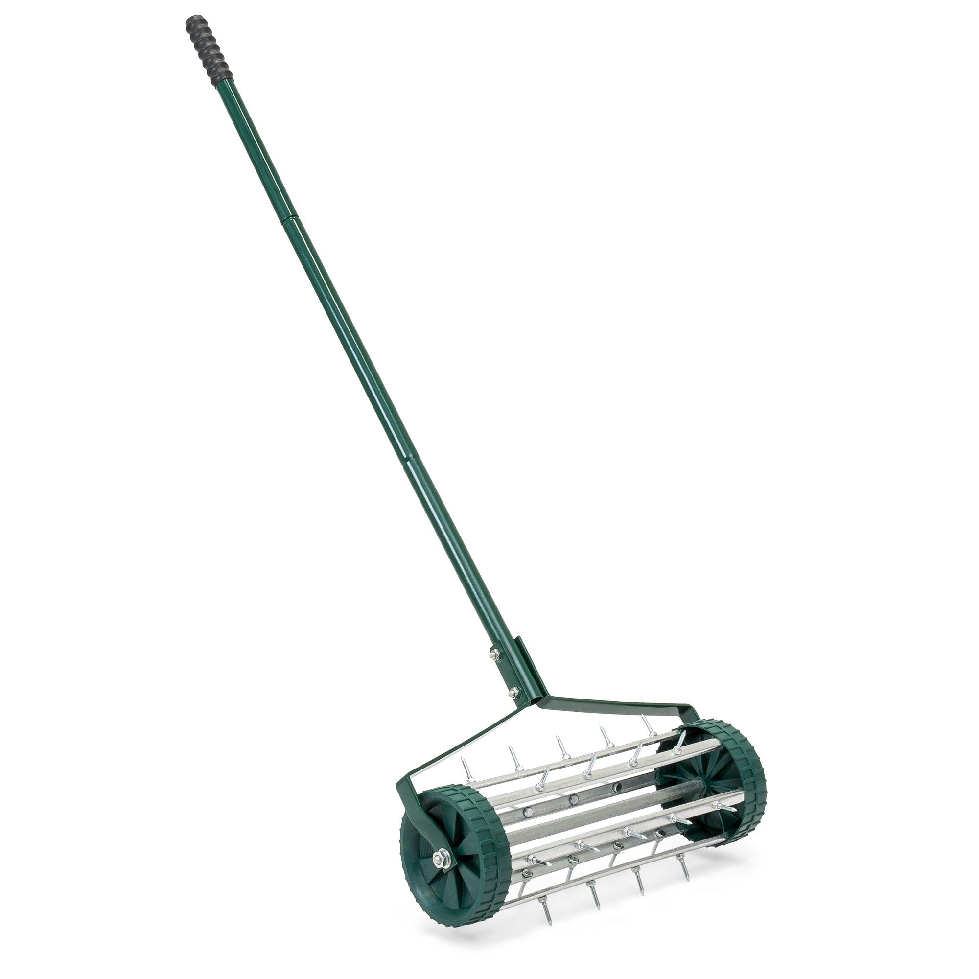 Bcp 18in Rolling Lawn Aerator Gardening Tool W Tine