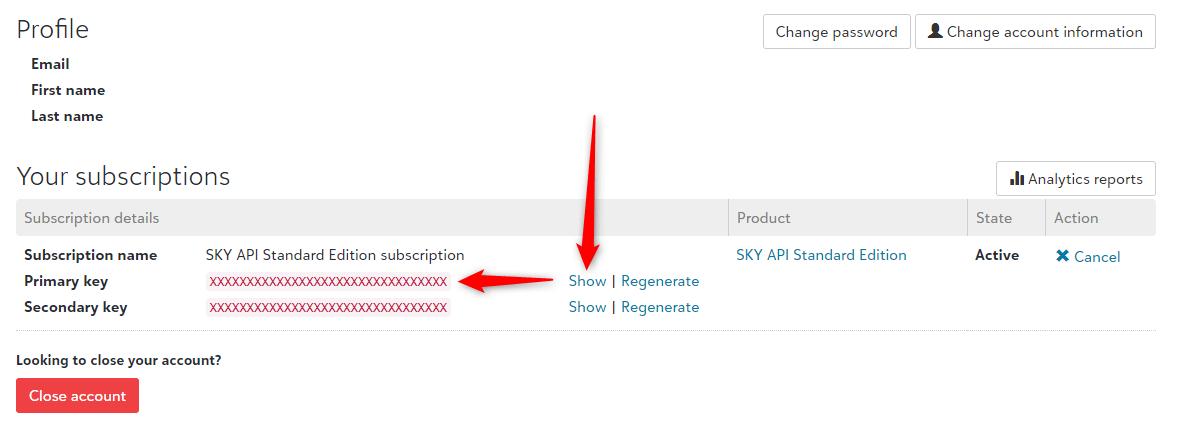 api_subscription_key = SKY API Standard Edition subscription Primary Key