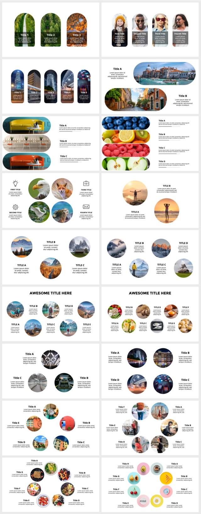 Huge Infographics Bundle! Lifetime Updates! PowerPoint, Photoshop, Illustrator. - 155