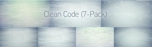 Hi-Tech Data Backgrounds (4-Pack) - 2